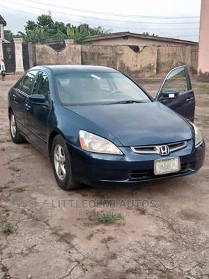 Honda Accord 2003 2.4 Automatic Blue | Cars for sale in Lagos State, Ifako-Ijaiye