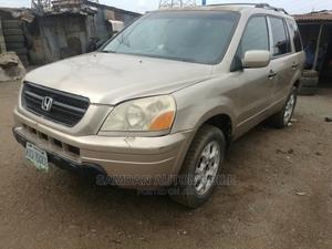 Honda Pilot 2004 Gold | Cars for sale in Lagos State, Alimosho