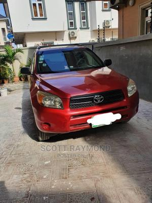 Toyota RAV4 2008 Limited V6 4x4 Red | Cars for sale in Lagos State, Surulere