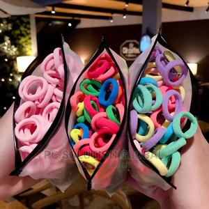 20 Pcs Baby Girl Cute Rubber Elastic Hair Accessory | Babies & Kids Accessories for sale in Oyo State, Ibadan