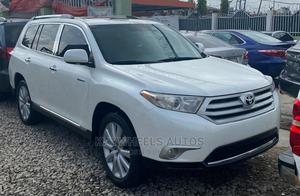 Toyota Highlander 2012 Limited White   Cars for sale in Lagos State, Agege