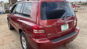 Toyota Highlander 2003 V6 FWD Red | Cars for sale in Oyo State, Ibadan
