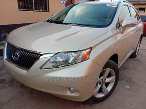Lexus RX 2010 350 Gold | Cars for sale in Lagos State, Surulere