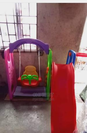 Slide, Swing and Basketball 3 in 1.   Toys for sale in Lagos State, Lagos Island (Eko)