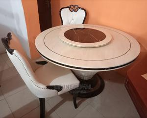 Marble Round Dining Table | Furniture for sale in Lagos State, Ajah