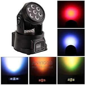 High Quality 7x10w 4in1 Mini Moving Head Stage Light | Stage Lighting & Effects for sale in Lagos State, Lagos Island (Eko)