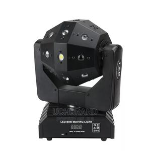 LED Mini Moving Head Ball Laser Beam Strobe 3 In1 | Stage Lighting & Effects for sale in Lagos State, Ojo