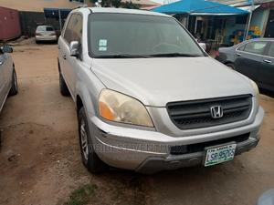 Honda Pilot 2004 EX 4x4 (3.5L 6cyl 5A) Silver | Cars for sale in Lagos State, Isolo
