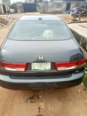 Honda Accord 2003 2.4 Automatic Black   Cars for sale in Lagos State, Abule Egba