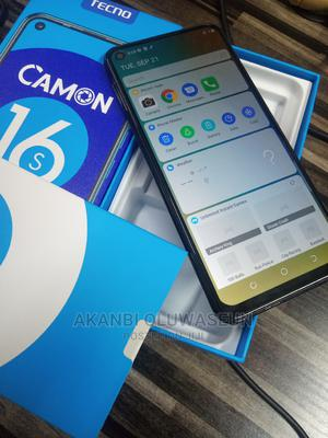 Tecno Camon 16S 128 GB Black | Mobile Phones for sale in Kwara State, Ilorin South