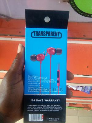Transparent Bass Magnetic Earphone   Accessories for Mobile Phones & Tablets for sale in Kwara State, Ilorin East