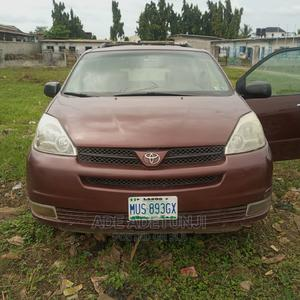 Toyota Sienna 2005 CE Red | Cars for sale in Lagos State, Ojo