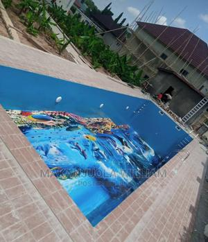 Swimming Pool With Floor Epoxy Finishing | Sports Equipment for sale in Lagos State, Ajah