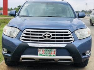 Toyota Highlander 2008 4x4 Blue | Cars for sale in Abuja (FCT) State, Central Business District