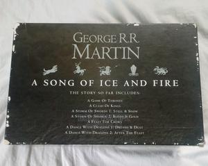 George R.R Martin: A Song of Ice and Fire Collection   Books & Games for sale in Oyo State, Ibadan