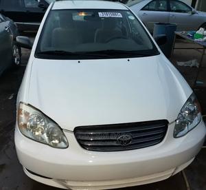 Toyota Corolla 2003 Sedan White | Cars for sale in Lagos State, Ikeja