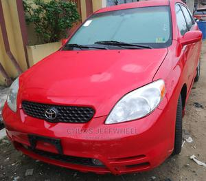 Toyota Matrix 2004 Red | Cars for sale in Lagos State, Isolo