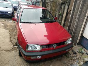 Volkswagen Golf 2000 Red   Cars for sale in Lagos State, Apapa