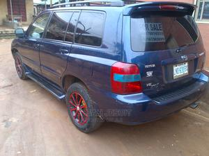 Toyota Highlander 2004 Blue   Cars for sale in Lagos State, Agege
