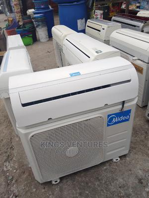 UK Used 1.5 Hp Media Inverter Split Unit Air Conditioner | Home Appliances for sale in Lagos State, Victoria Island