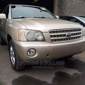 Toyota Highlander 2003 Limited V6 FWD Gold   Cars for sale in Lagos State, Apapa
