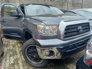 Toyota Tundra 2008 Double Cab Gray   Cars for sale in Lagos State, Ikeja