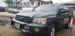 Toyota Highlander 2003 Green | Cars for sale in Lagos State, Lekki