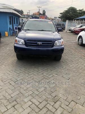 Toyota Highlander 2004 Blue   Cars for sale in Lagos State, Ojodu