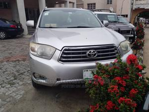 Toyota Highlander 2009 Limited 4x4 Silver   Cars for sale in Lagos State, Isolo