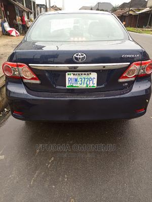 Toyota Corolla 2011 Blue | Cars for sale in Rivers State, Obio-Akpor