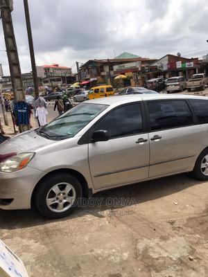Toyota Sienna 2004 CE FWD (3.3L V6 5A) Silver | Cars for sale in Lagos State, Ikeja
