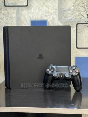Play Station 4 Game Console Slim WITH ONE GAME PAD | Video Game Consoles for sale in Lagos State, Ikeja