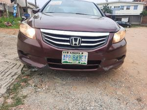 Honda Accord 2008 2.4 EX Automatic Burgandy | Cars for sale in Lagos State, Isolo