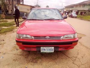 Toyota Corolla 1991 1.3 Hatchback Red   Cars for sale in Kaduna State, Zaria