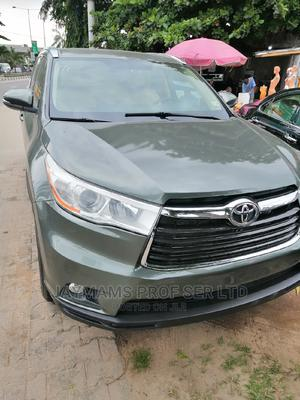Toyota Highlander 2015 Green | Cars for sale in Lagos State, Surulere