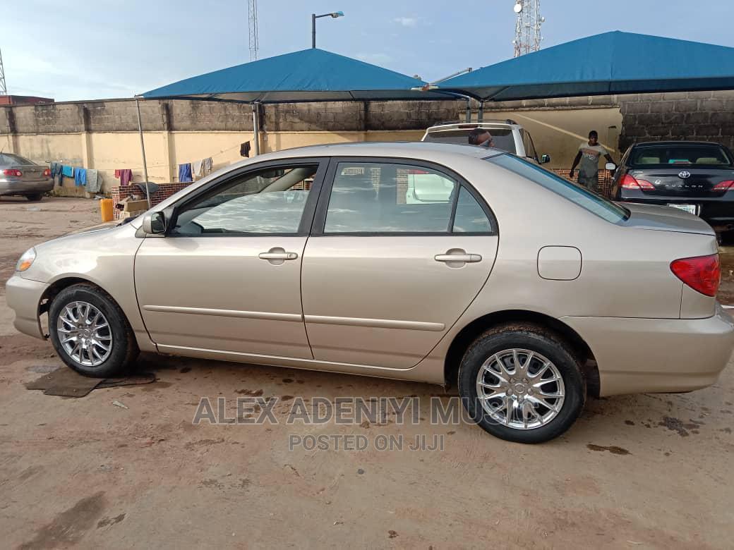 Toyota Corolla 2005 Gold   Cars for sale in Egbe Idimu, Lagos State, Nigeria