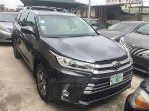 Toyota Highlander 2014 Gray   Cars for sale in Lagos State, Surulere