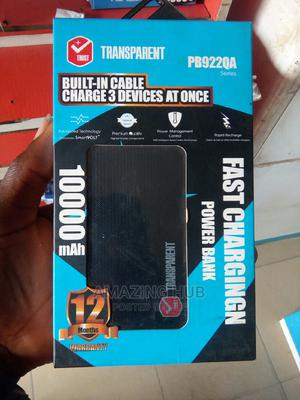 Transparent Built-In Cable Power Bank   Accessories for Mobile Phones & Tablets for sale in Kwara State, Ilorin East