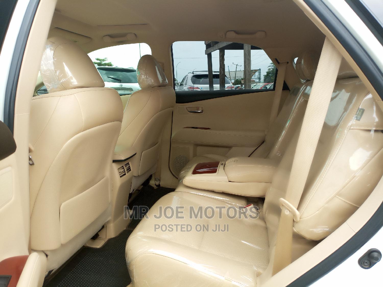 Lexus RX 2011 350 White   Cars for sale in Apapa, Lagos State, Nigeria