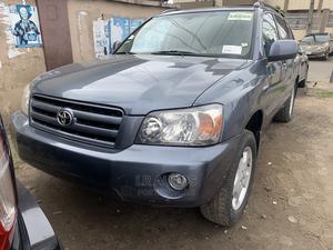 Toyota Highlander 2005 Limited V6 Blue | Cars for sale in Lagos State, Surulere