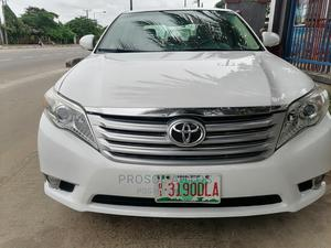 Toyota Avalon 2011 White | Cars for sale in Lagos State, Yaba