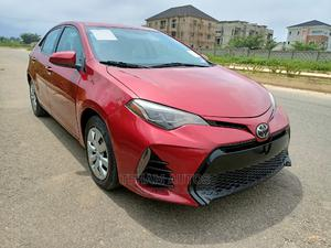 Toyota Corolla 2017 Red | Cars for sale in Abuja (FCT) State, Gwarinpa