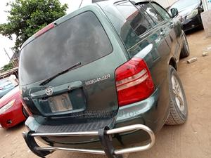 Toyota Highlander 2004 Green | Cars for sale in Lagos State, Agege