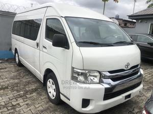 Fresh Out Dubai Used Toyota Hiace 2014 White For Sale!! | Buses & Microbuses for sale in Lagos State