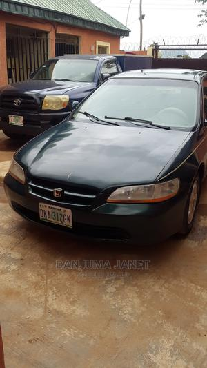 Honda Accord 2001 Coupe Green | Cars for sale in Abuja (FCT) State, Kubwa