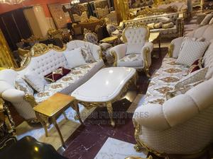 Royal Italian Brand Sofa Set , Side Stole , Center Table   Furniture for sale in Lagos State, Ojo