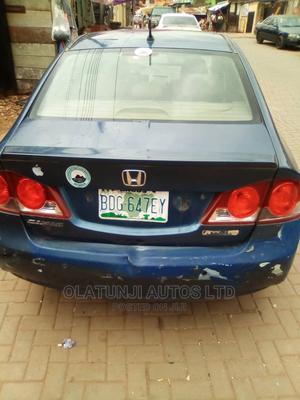 Honda Civic 2008 Blue   Cars for sale in Lagos State, Ikeja