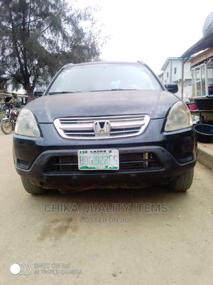 Honda CR-V 2005 Automatic Black | Cars for sale in Lagos State, Alimosho