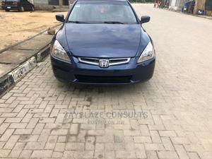 Honda Accord 2004 Sedan EX Blue | Cars for sale in Lagos State, Ogudu