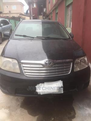Toyota Corolla 2004 Sedan Automatic Black   Cars for sale in Lagos State, Ogba